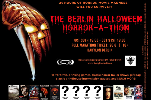 The Berlin Halloween Horror-a-thon