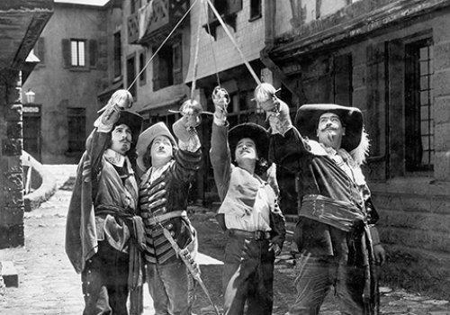 100 Jahre Stummfilm: The Three Musketeers. Eintritt frei